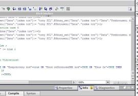 Ukázka programu SCL